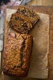 Traditionell irländsk teacake Barmbrack Arkivfoton