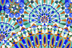 traditionell islamisk mosaik royaltyfri bild