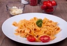 Traditionell italiensk pasta arkivfoton