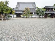 Traditionell japansk tempelbyggnad Royaltyfri Bild