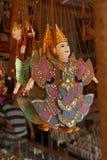 Traditionell kambodjansk docka arkivbild