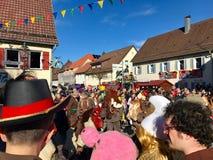 Traditionell karneval i Tyskland Royaltyfria Bilder