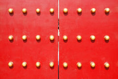 traditionell kinesisk dörr Royaltyfri Bild