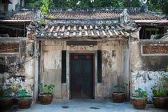 traditionell kinesisk dörr Royaltyfri Fotografi