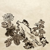 traditionell kinesisk målning vektor illustrationer