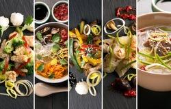 Traditionell kinesisk mat Arkivfoto