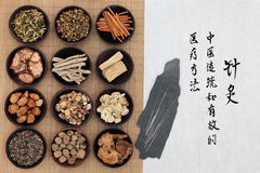 traditionell kinesisk medicin Arkivfoton