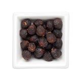 Traditionell kinesisk medicin - torkad Longanfrukt Arkivfoto