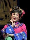 traditionell kinesisk opera för aktris Arkivbilder