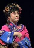 traditionell kinesisk opera för aktris Royaltyfri Bild