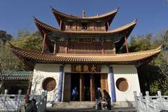 Traditionell kinesisk paviljong Arkivfoton