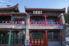 traditionell kinesisk paviljong Arkivbilder
