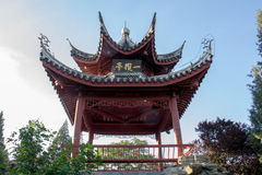 traditionell kinesisk paviljong Arkivfoto