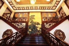 traditionell kinesisk restaurang Fotografering för Bildbyråer