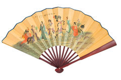 traditionell kinesisk ventilator Arkivfoto