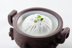Traditionell klimp för kinesisk vit royaltyfri foto