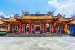 Traditionell Konfucius tempel Arkivfoton
