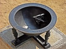 traditionell korea sundial Arkivfoton