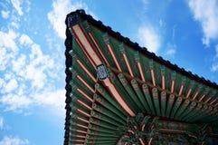 Traditionell koreansk garnering Arkivfoton