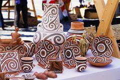 Traditionell krukmakeri Fotografering för Bildbyråer