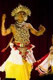 traditionell lankan sri för dansare Arkivbilder