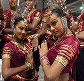 traditionell lankan sri för dansare Royaltyfri Bild