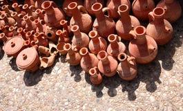 traditionell lebanon krukmakeriterrakotta Royaltyfria Bilder
