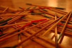 Traditionell lek på tabellen Arkivbild