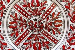 Traditionell målad krukmakeri royaltyfri bild