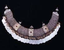 Traditionell macedonian halsband arkivfoto