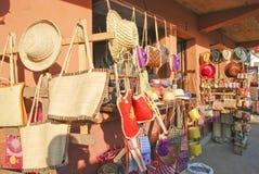 Traditionell malagasy gatamarknad Royaltyfria Bilder