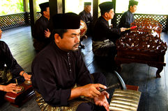 Traditionell Malaymusik Royaltyfri Bild