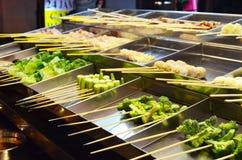 Traditionell Malaysia gata mat namngav Lok Lok royaltyfria foton