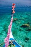 Traditionell maldivian fartygdhoni arkivfoto