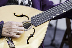 Traditionell mandolin Royaltyfria Bilder
