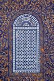 Traditionell maroccan modellbakgrund royaltyfri fotografi