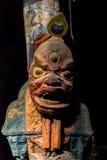 traditionell maskering Arkivbild