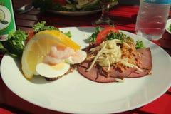 Traditionell mat av danska royaltyfria bilder