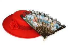 traditionell modespanjor royaltyfri foto