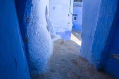Traditionell moroccan arkitektonisk stil Arkivbild