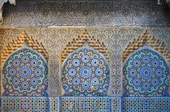 traditionell moroccan prydnad Royaltyfria Bilder