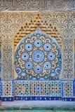 traditionell moroccan prydnad Arkivbilder