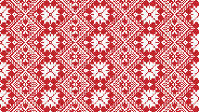 Traditionell nationell broderi Arkivfoton