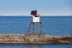 Traditionell norsk stålfyr fotografering för bildbyråer