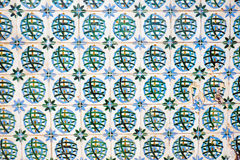 Traditionell old tiles in Portugal Stock Image