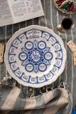 Traditionell påskhögtidplatta Royaltyfri Fotografi