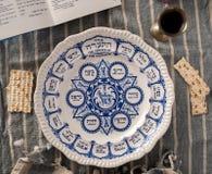Traditionell påskhögtidplatta Arkivfoto
