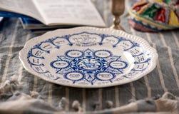 Traditionell påskhögtidplatta Arkivfoton