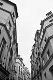 Traditionell Paris gata Royaltyfri Fotografi