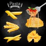 Traditionell pastatappning Fotografering för Bildbyråer